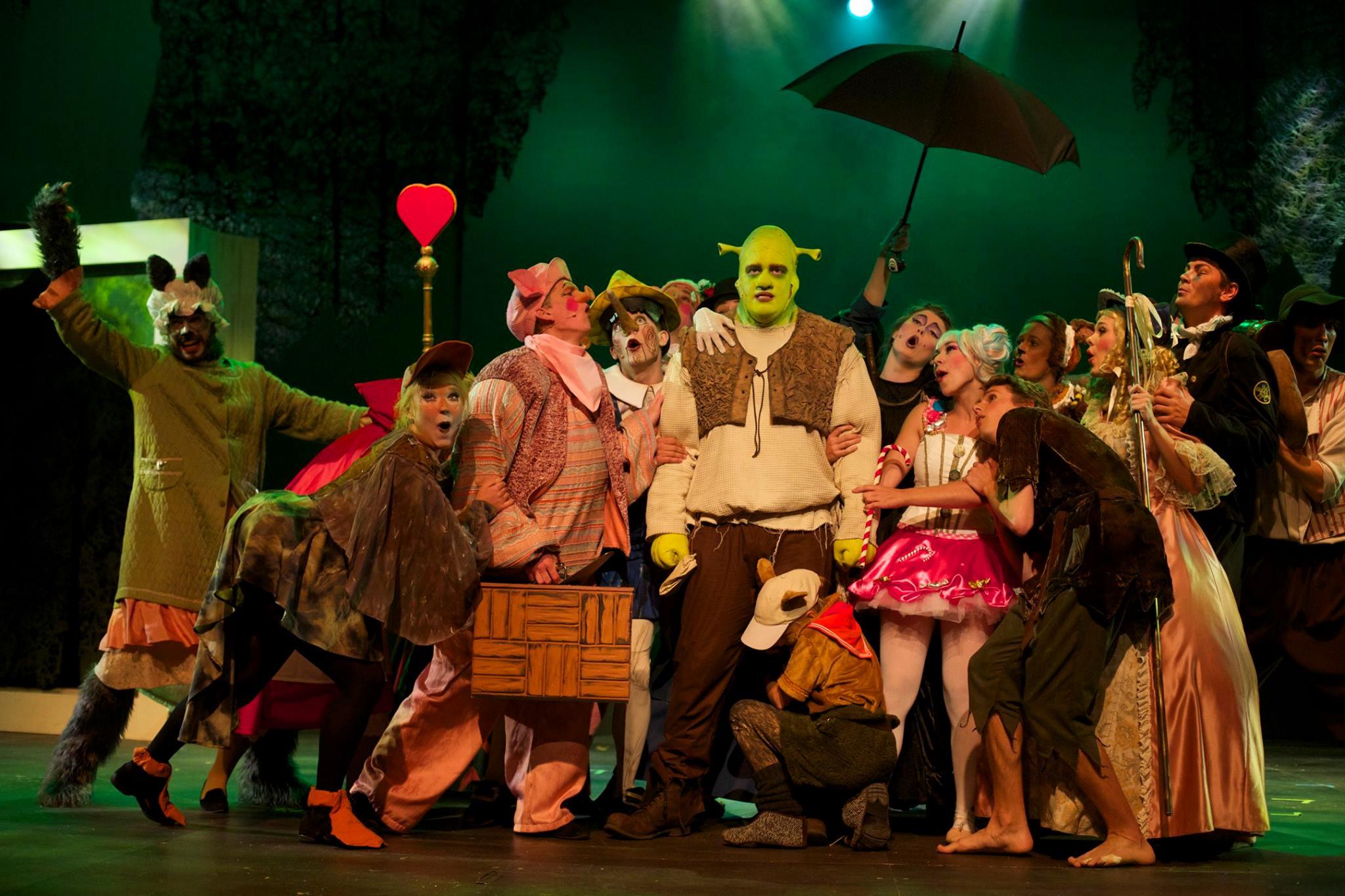 Shrek vil egentlig allerhelst bare have lov at være i fred.